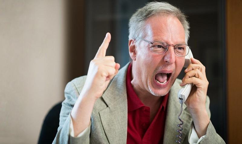 Когда звонит разгневанный клиент с претензией