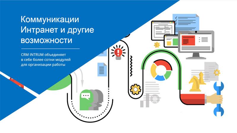 Интранет, корпоративный портал, онлайн чаты, управление задачами